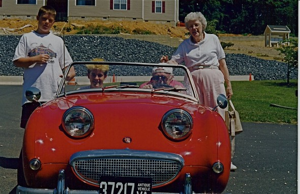 Scott, me, Pap-Pap & grandma