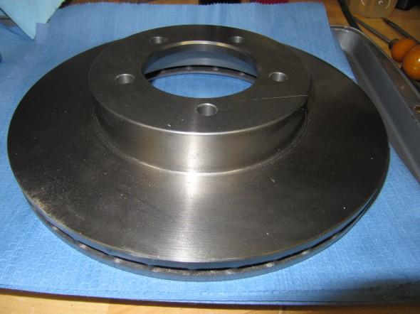 Vented Brake Rotor 1