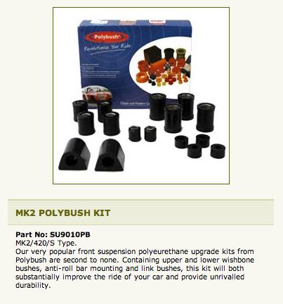 Polybush Front Kit