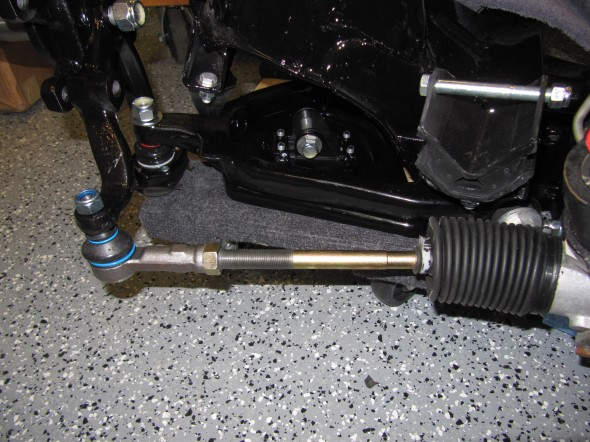LH Rod End to Lever