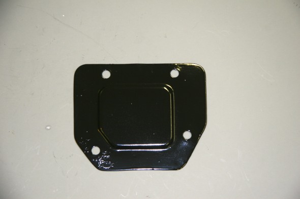 Cover Plate Over Pedal Mounting Cut-out on Centre Dash