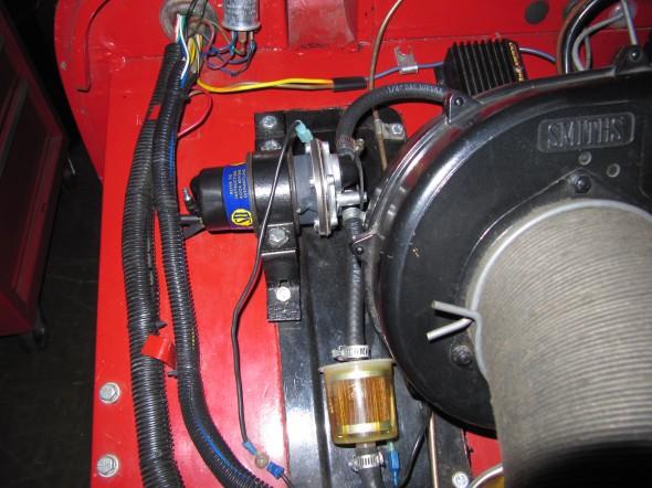 Fuel Pump Installed