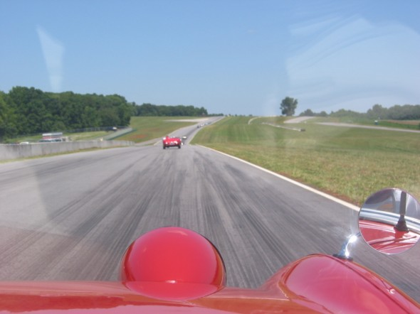 At Speed on the VIR Track