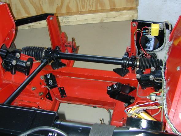 Painted Steering Rack