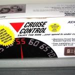 Audiovox Cruise Control Image 1