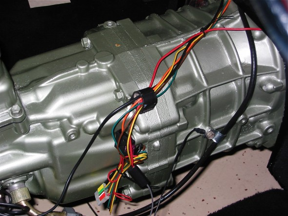 Cruise Wiring Along Gearbox Image 23