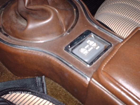 Alan Teague's BJ8 Console Install Image 12