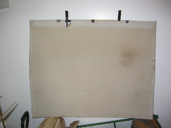 Headliner old - on frame