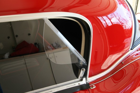 Lexan Panel with Flap