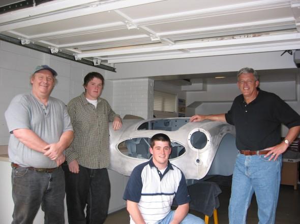 Arrival Day: Marty, Scott, John, Lin