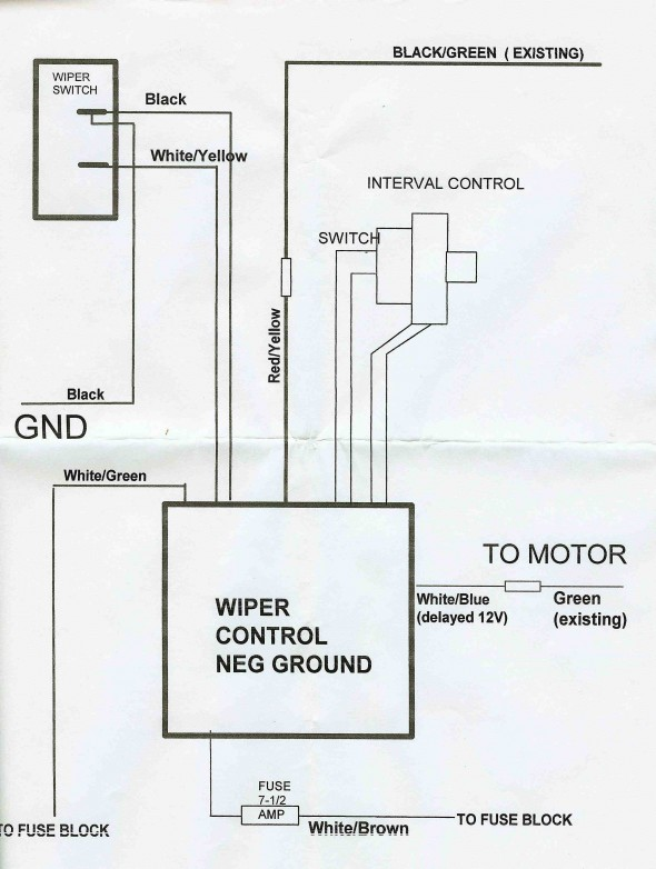 Wiper Control Diagram