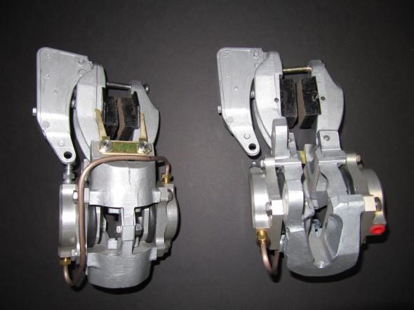 Rear Caliper LH & RH