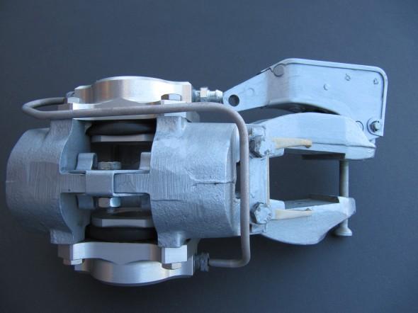 Right Rear Brake Caliper Refurbished
