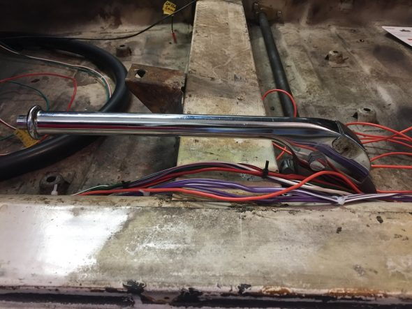 Handbrake Assembly Installed