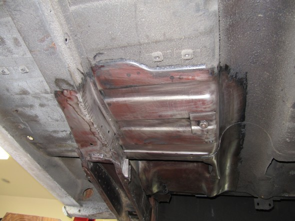 Undercoating Removed