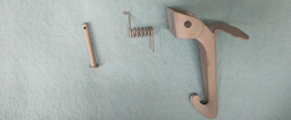 Safety Hook Components Cleaned