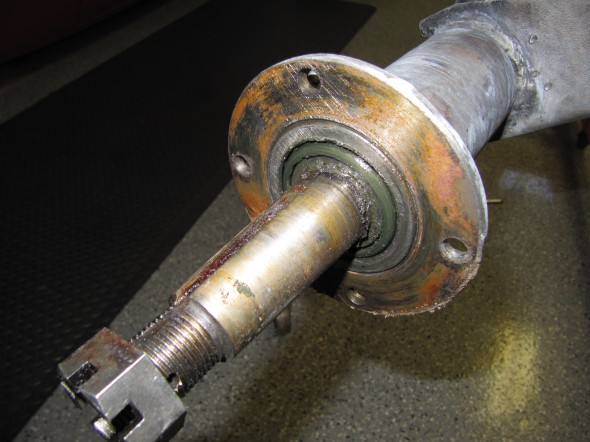 RH Axle Shaft with Bearing & Seal
