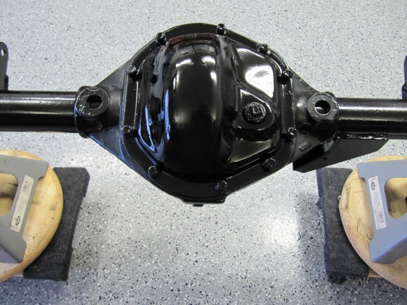 Rear Differential Carrier Cover