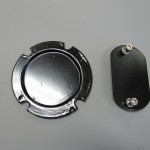 Steering Wheel Shaft & Dip Switch Blanking Plates