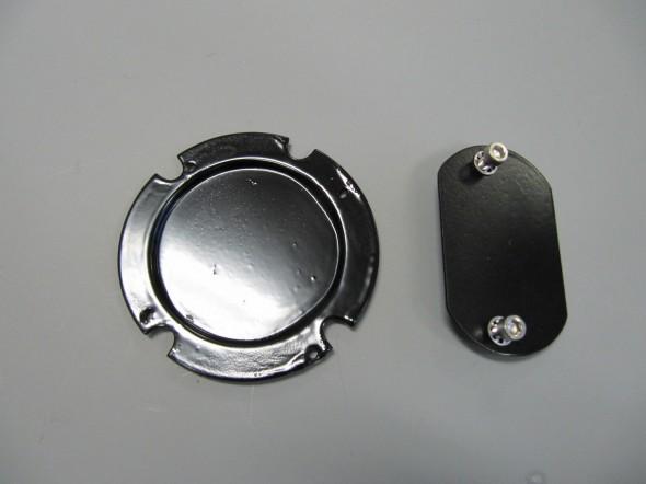 Steering Wheel Shaft & Dip Switch Blanking Plates