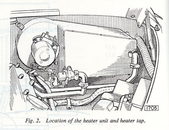 Heater in Engine Bay