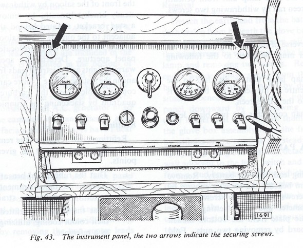 Instrument Assembly Panel