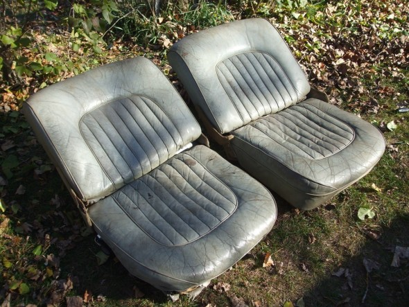 Jag MK2 Optional Tilting Seats
