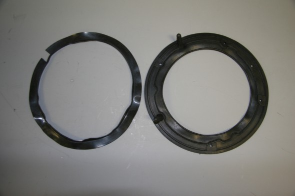 Dust Excluder behind headlight Outer Rim and Headlamp Body Gasket
