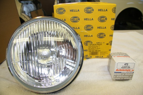 Hella Halogen Headlamps