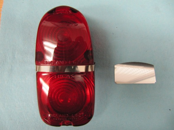 Taillight with Shield