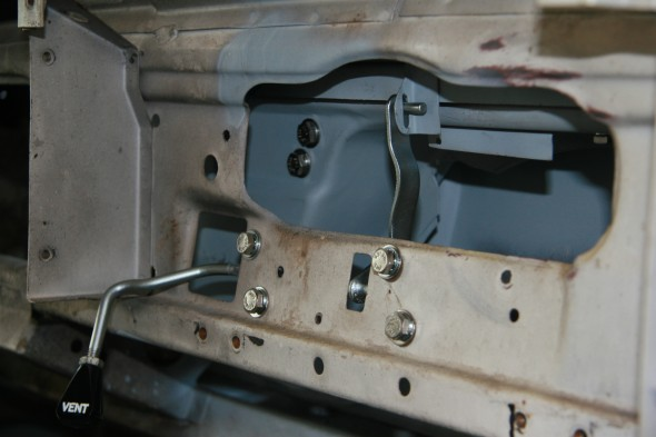 Operating Arm Assembly, for Scuttle Ventilator Lid Trial Fitting