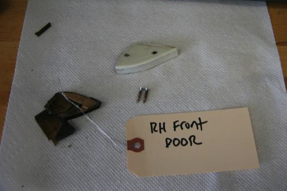 RH Front Door Filler Piece On the Shut Face Panel
