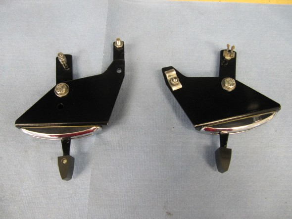 Temperature and Air Distribution Levers