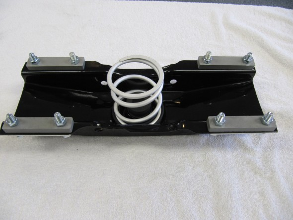 Channel Support Assembly Components for Rear Engine Mounting Assembled
