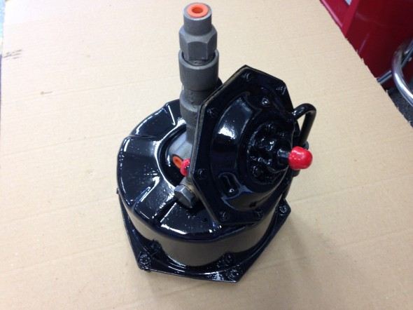 Brake Servo Painted for Installation