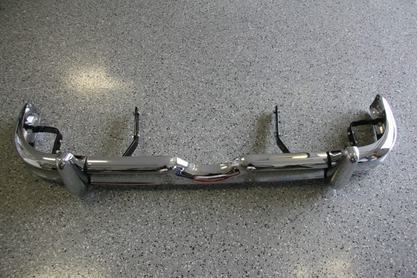 Front Bumper with all Mounting Brackets and Hardware