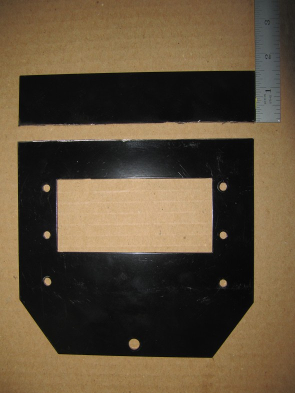 Blower Reinforcement Plate Trimmed