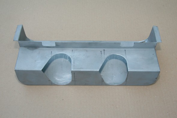 Modified Newspaper Tray for Air Hoses