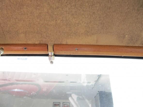 Mirror Mounting Bracket Installed