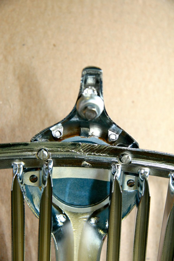 Radiator Grille Rear Side with Center Vane Mounting Hardware