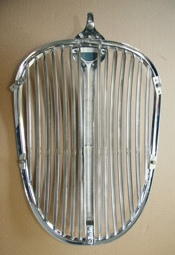 Radiator Grille Rear Side with Mounting Hardware