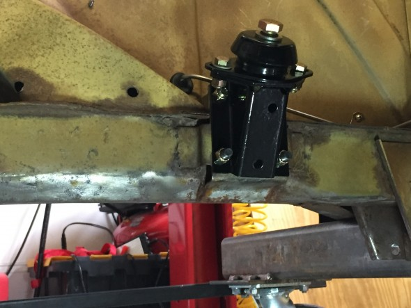 LH Motor Mounts Installed
