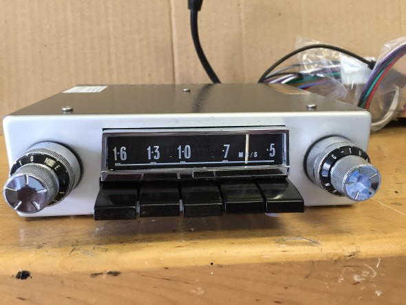 Radiomobile Conversion with Mounting faceplate