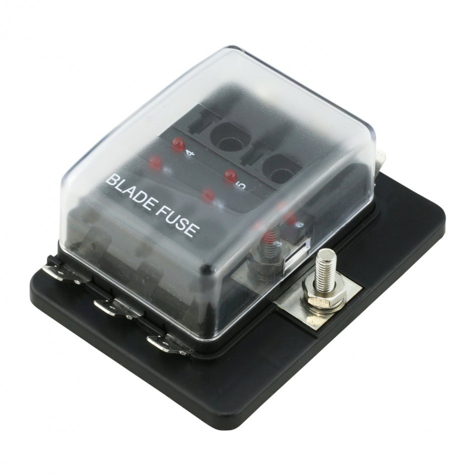 OnLine-LED-Store Six-Way Fuse Box