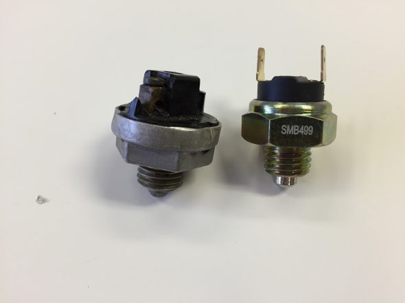 Original and New Lucas Overdrive and Reverse Switch