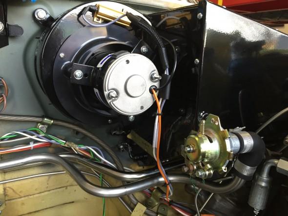 Heater Fan Wiring