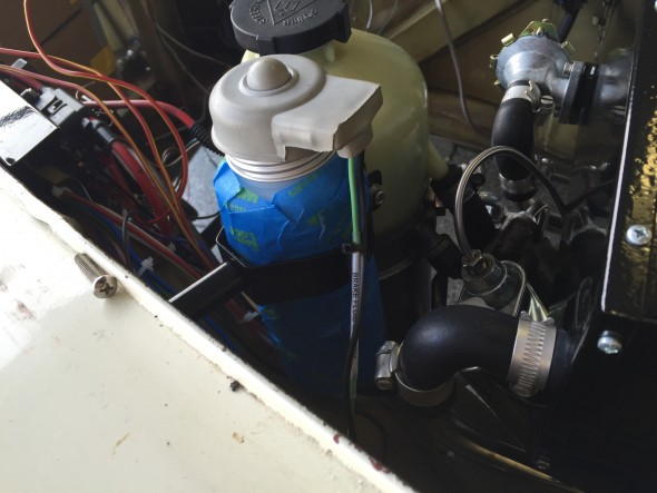 Hydraulic Fluid Container Wiring