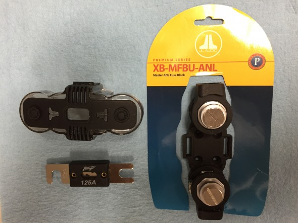 ANL 125 Amp Fuse with J&L Holder