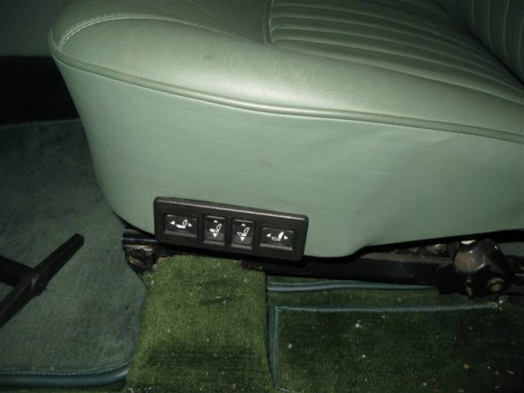 Kevin Moore's MK2 power seat switches
