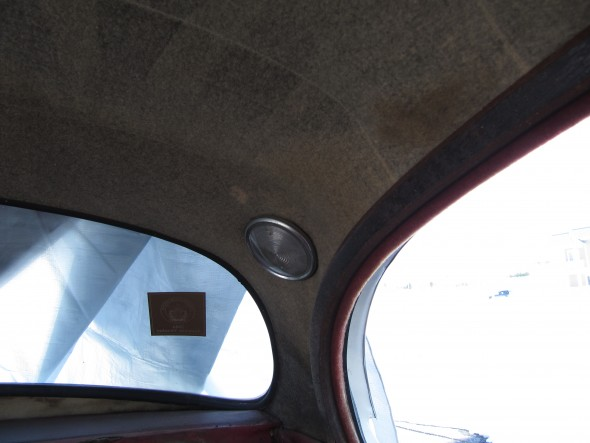 Rear Quarter Interior Lamp